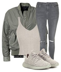 """Bomber"" by sunrisun ❤ liked on Polyvore featuring Filippa K, WearAll, Topshop and adidas Originals"