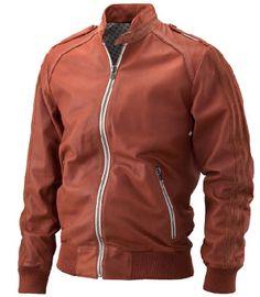 Adidas vespa leather jacket