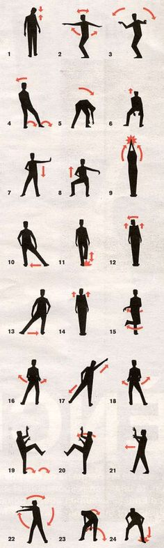 Learn the Thriller Dance Steps. I'm doing this.