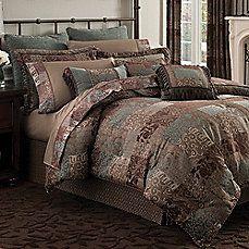 Croscill® Galleria Oversized Comforter Set & Accessories in Chocolate