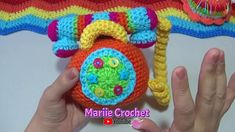 Telefono tejido a crochet Paso a Paso - YouTube Diy And Crafts, Crochet Necklace, Crochet Hats, Youtube, Crochet Backpack, Crochet Dolls, Amigurumi, Little Things, How To Knit