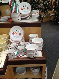 Fiesta® Snowmen Dinnerware Collection made exclusively for Tamarack by Homer Laughlin China Company