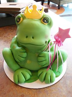 Frog Cakes   Personality truly comes out in these adorable frogs!