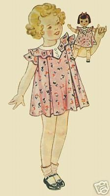 Set-of-Five-Antique-Doll-Dress-Patterns-from-1930s