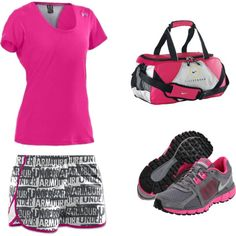 """Under Armor and Nike"" by ajfins on Polyvore"