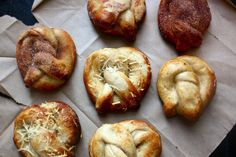 Recipe for Gourmet Auntie Anne's Pretzels with 4 topping variations