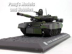 T-80 Russian Main Battle Tank 1/72 Scale Diecast Metal Model by War Master