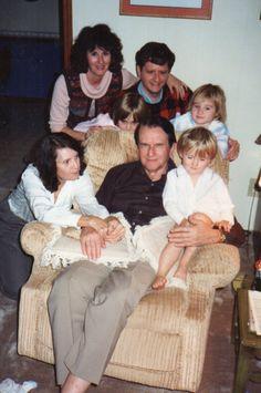 Christmas 1988 - Bams, Pops, Mom, Larry, Lindsey, Betsy, Alex