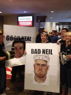 Good Neal, bad Neil