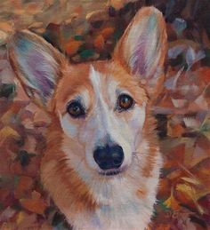 "Daily Paintworks - ""Haily"" - Original Fine Art for Sale - © Deborah Savo"