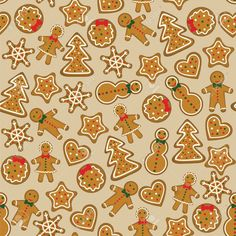 16478086-Seamless-background-with-christmas-cookies-Stock-Photo.jpg (1300×1300)
