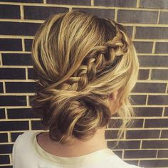 40 Casual and Formal Side Bun Hairstyles for 2019 Side Updos, Tha. - - 40 Casual and Formal Side Bun Hairstyles for 2019 Side Updos, That Are in Trend: 40 Best Bun Hairstyles for 2019 Braided Hairstyles Updo, Braided Updo, Up Hairstyles, Braid Bun Updo, Formal Hairstyles, Gorgeous Hairstyles, Braid Bangs, Popular Hairstyles, Side Bun Updo
