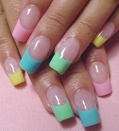 french w pastel colors