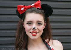 Minnie Facepainting Pintacaritas Mi Pasion Face Painting Booth