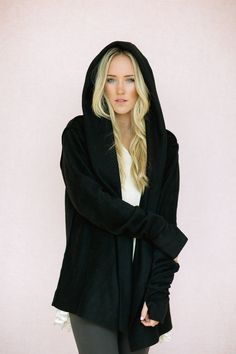 Hey, I found this really awesome Etsy listing at https://www.etsy.com/listing/163732620/black-fleece-cozy-jacket-bohemian