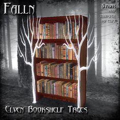 Falln Elven Bookshelf Trees
