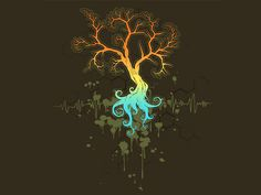 Fractal Tree - Shirt Woot