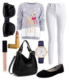 """""""Untitled #235"""" by ana-gabriela801 on Polyvore featuring Boohoo, Barbour International, BLVD Supply, Kate Spade, Acne Studios and Witchery"""
