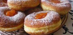 A nagyi szalagos fánkja recept Trarita konyhájából - Receptneked. Hungarian Recipes, Hungarian Food, Top 5, Bagel, Doughnut, Hamburger, Bread, Sweet, Desserts