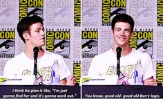 #TheFlash cast at SDCC 2016 - Grant Gustin