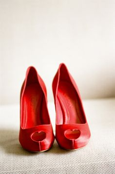 heart shaped peep toes shoes