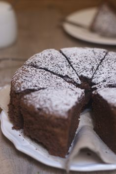 My grandmother's chocolate cake - Marine is Cooking - Cuisine - Desserts Chocolate Desserts, Fun Desserts, Chocolate Chip Cookies, Chocolate Cake, Cooking Chocolate, Brookies Recipe, Cake Recipes, Dessert Recipes, Food Cakes