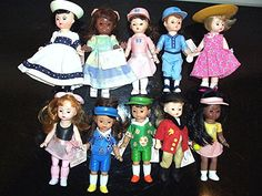 Collection of 10 Madame Alexander Dolls, 5 inch tall McDonalds Toys in package by TreasuresPast4U