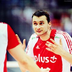 Michał Ruciak. Polish Volleyball Player.