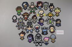 So I totally wanted to make smaller Overwatch character sprites to sell at a lower price then the huge Pixel Spray ones form the game, but I couldn't find any I liked. That led me to make my own! If you want to remake these, and I know some people...