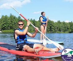 Paddle boarding, kayaking, canoeing. The best way to spend your summer is on a lake with friendly faces!