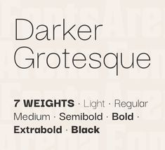 16 Best Free Grotesque / Grotesk / Neo-Grotesque Fonts images in 2019