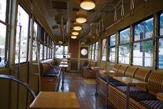 レトロ電車(富山地方鉄道)