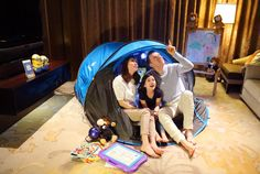 Ritz-Carlton hotels in Asia Pacific offer an inspiring campside adventure right in the comfort of a guests hotel room.