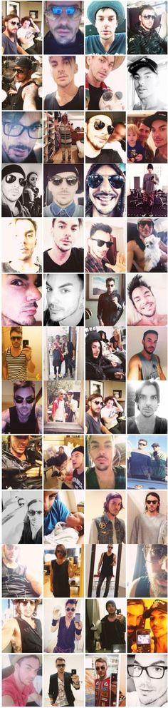 Shannon's selfies.