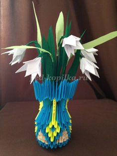 Origami on the theme of Spring