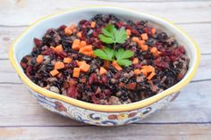 This Ground Turkey with Forbidden Rice and Cranberries recipe is sure to be a staple in your dinner menu rotations! Filled with lean ground turkey, fresh carrots, and exotic forbidden rice, this dish is bound to be a hit with your friends and family.   According to ancient Chinese legend, forbidden (black) rice was so coveted, rare, and delicate that only Chinese emperors were allowed to eat it to ensure a long, healthy life. In the time since, forbidden rice has remained popular in certain…