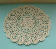 Cream Shells Crochet Doily | Flickr - Photo Sharing!