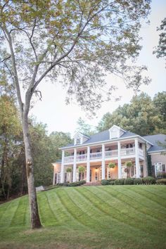 Southern home on a hill