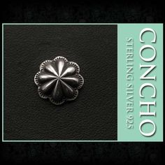 Concho Sterling Silver 925 WILD HEARTS Leather&Silver (ID co3278) http://global.rakuten.com/en/store/auc-wildhearts/item/co3278/