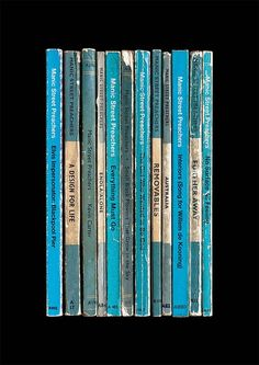 Manic Street Preachers 'Everything Must Go' Poster Print | Album As Penguin Books | Literary Gift | Tour Poster | Music Print #manicstreetpreachers #manics