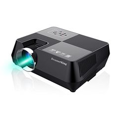 BeamerKing Projector Home Theater Video +30% Lumens Mini Portable Led Projectors Projector Up 170'' Full HD 1080P Movie Screen with HDMI USB VGA AV for iPhone Laptop Android DVD Smartphone PS4 Ipad Smartphone Hacks, Android Smartphone, Lcd Projector, Projectors, Lcd Monitor, Home Theater, Hd 1080p, Ps4, Laptop