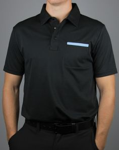 2619886e057 Travis Mathew Redlands Black Golf Polo