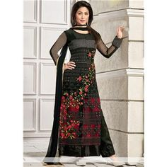 Buy Salesway Black Net Dress Material by salesway, on Paytm, Price: Rs.1399?utm_medium=pintrest