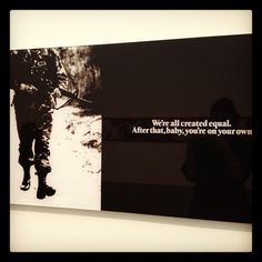 Alfredo Jaar- We Are All Created Equal Power To The People, Political Issues, Equality, Healing Power, Words, Languages, Collages, Chile, Poetry