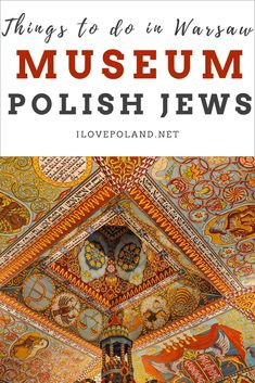 If you're looking for things to do in Warsaw then pay a visit to Polin-Museum of the History of Polish Jews. Considered to be one of the best museums not only in Poland but in Europe too. European Destination, European Travel, Polish Jews, Stuff To Do, Things To Do, Visit Poland, Jewish Museum, Poland Travel, Warsaw Poland