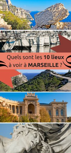 Awesome Marseille, the third largest city in France, is rich in heritage and picturesque places. What to see in priority to Marseille during his first visit? What are the most beautiful sites in Marseille? England Italy, Belle France, Picture Postcards, Aix En Provence, Beautiful Sites, France Travel, Holiday Travel, Travel Photos, Travel Inspiration