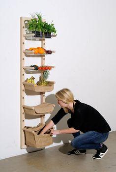 DIY Vegetable Shelf