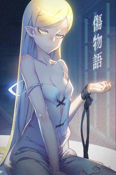 Poster A3 Monogatari Bakemonogatari Shinobu Shojo Manga Anime Decor Otaku 01
