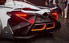 Concept Egoista Lamborghini rear