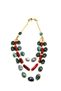 ARIABA JADE AND CORALS  #ARIABA  #AfricanFashion #NigerianFashion #BuyNigerian   Available at http://lespacebylpm.com/